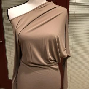 BCBG of the shoulder dress